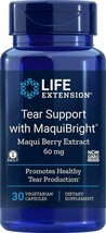 Life Extension Tear Support with Maquibright 60 mg, 30 Vegetarian Capsules - $16.07