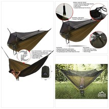 Everest Double Camping Hammock with Mosquito Net | Bug-Free Camping, Bac... - $127.44