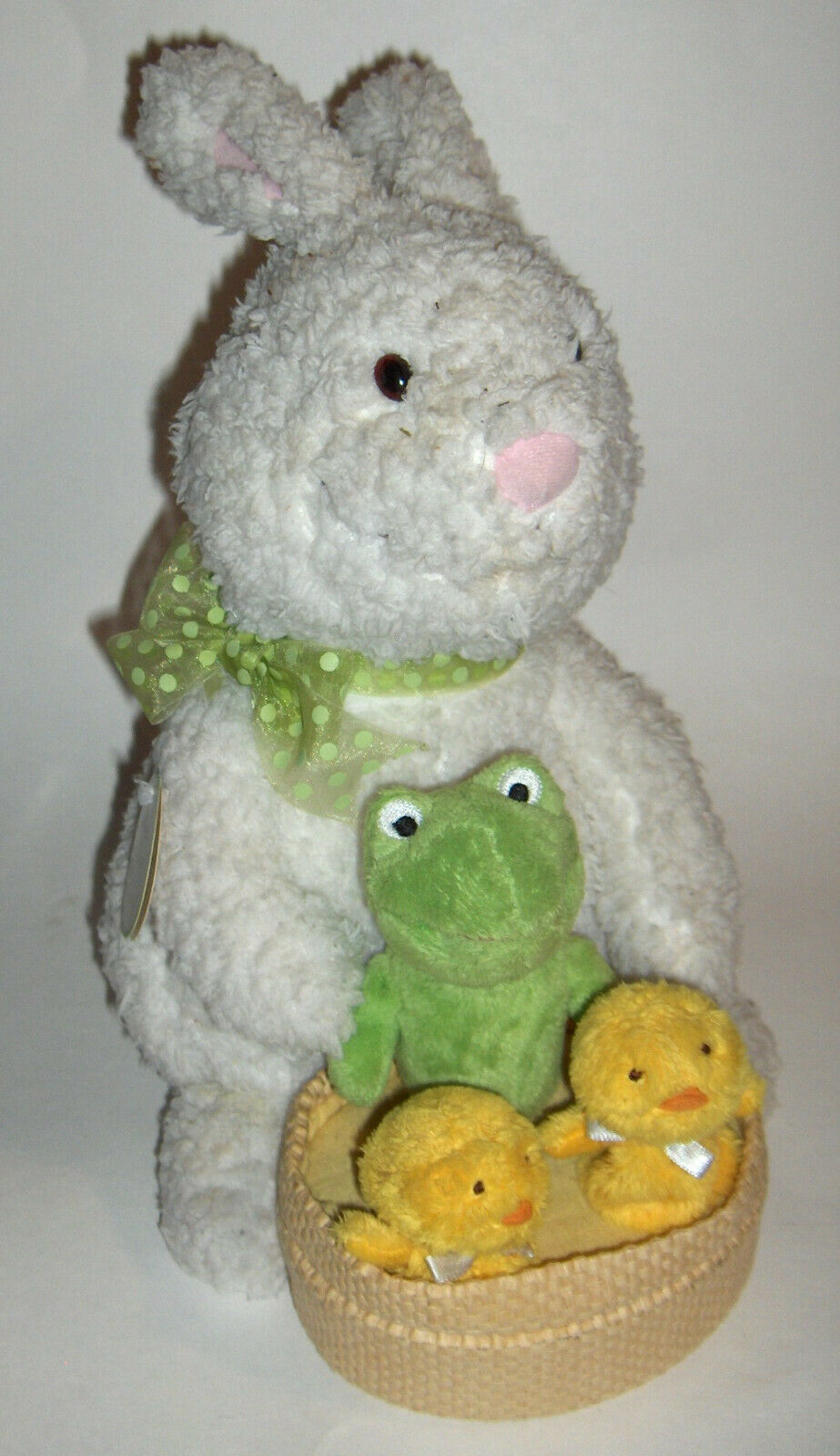 "Primary image for Hallmark  Bunny with Chicks  Spring Quartet  plays ""At the Hop"""