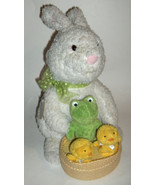 "Hallmark  Bunny with Chicks  Spring Quartet  plays ""At the Hop"" - $29.69"