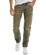 Diesel Mens Larkee Faded Tapered Leg Distressed Jeans 33X32 - $98.99