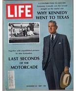 ORIGINAL Vintage Life Magazine November 24 1967 JFK Motorcade - $18.51
