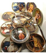 Lot of 11 knowles Plate Rockwell's Rediscovered Women Collection - $36.62