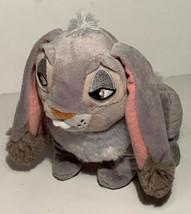 "Thumper Rabbit Disney Collection Official Bambi 6"" Plush Gray Long Ears - $13.99"