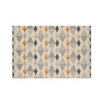 New 5x8 6x9 8x10 9x12 Orson Diamond Hand Tufted Woolen Area Rug - $299.00+