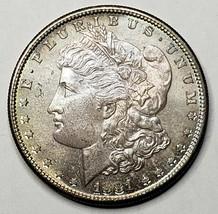 1881S Toned MORGAN SILVER $1 DOLLAR Coin Lot# 519-21