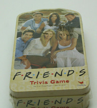 Friends Trivia Game by Cardinal 200 Questions In Collectors Tin 2003 Sealed  - $29.69