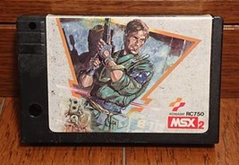 MSX2  METAL GEAR KONAMI  Networking   Software Toy Used Japan A07 - $339.99