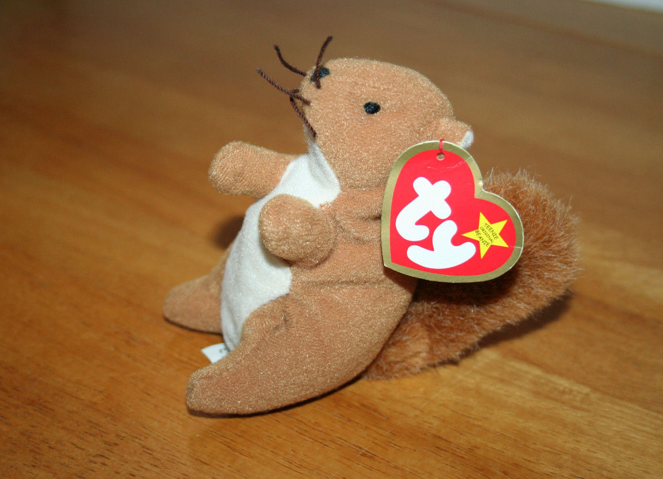 c07072fe6ee Teenie Beanie Babies Nuts the Squirrel Plush and 50 similar items. S l1600
