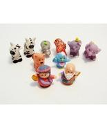 Fisher Price Little People Noahs Ark Figures Animals 10 Piece Replacemen... - $16.99