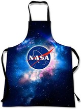 Sweet Gisele NASA Outer Space Cooking Apron   3D Print Chef Aprons   Gre... - $21.65