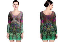 Authentic funkadelic long sleeve bodycon dress thumb200