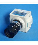 Siemens CCD-Kamera Sicolor C810 2GF1180-8CA with Pentax 1.4 TV lens DC7-15V - $541.20