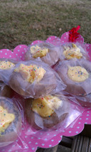 Lemon Filled Chocolate Cookie Glycerin soap. bulk wholesale lot of 50 - $125.00