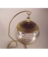 Glass Christmas Tree Ornament Musical Score Music Notes - $9.95