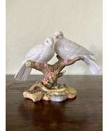 "VINTAGE Maruri Style 1997 Porcelain ""Wings of Love"" Dove Love Birds EUC - $18.70"