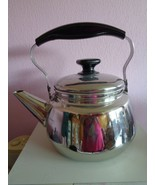 Stainless Steel Tea Pot Kettle with Infuser Basket Extra Large Unbranded  - $45.99