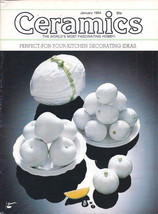 Ceramics -- The world's most fascinating HOBBY! Magazine January 1984 - $4.95