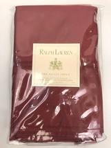 Ralph Lauren Estate Sateen Damask Red Standard Pillowcases Set 2 New - $59.39