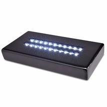 Santa Cruz Lights Large Black Lacquer Double Line 22 LED White Light Sta... - $51.21