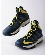 Nike Mens AirMax Stutter Step Athletic Basketball Sneakers Sz 10.5 Navy ... - $49.49