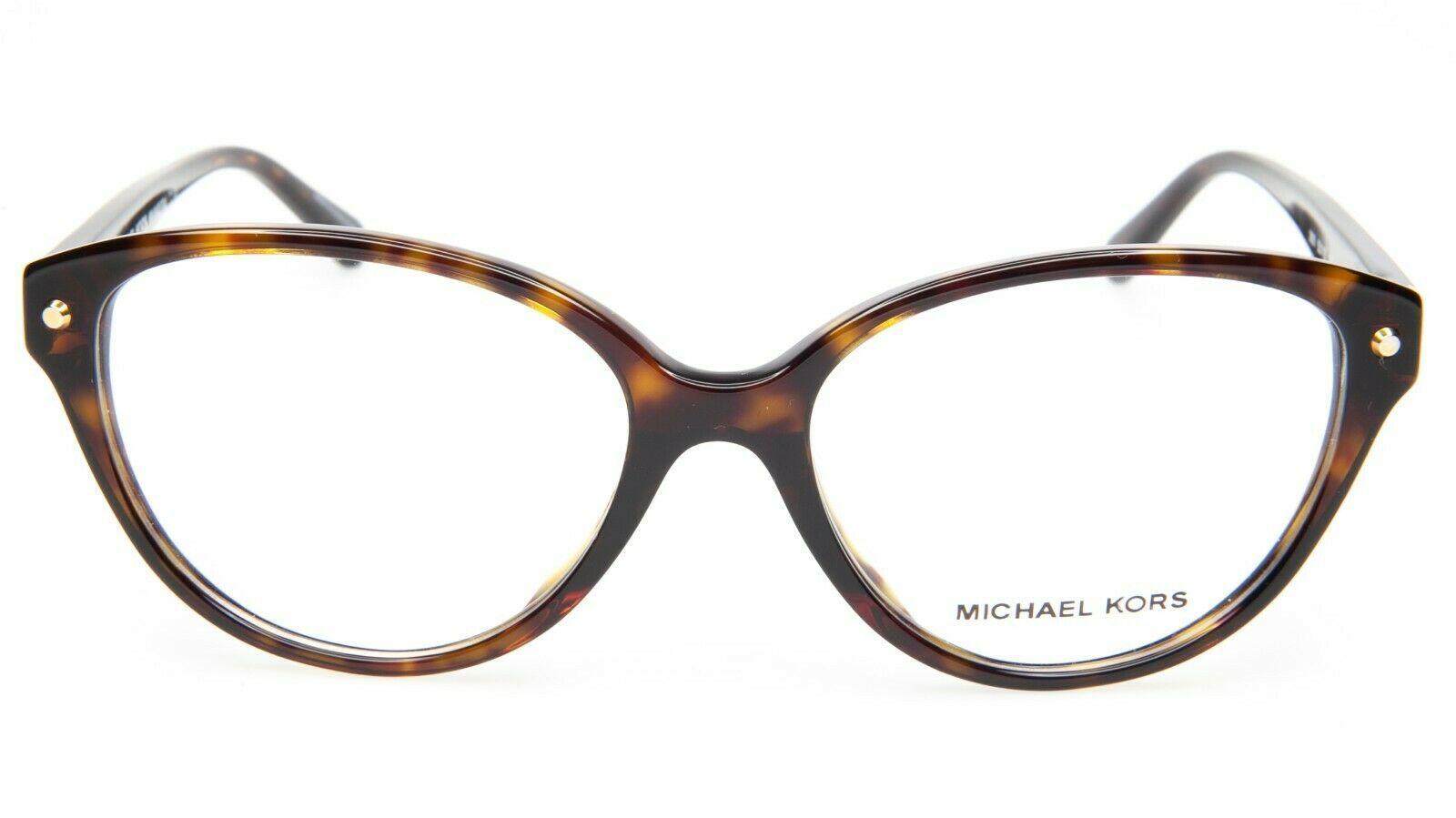 NEW MICHAEL KORS MK4042F Kia 3006 HAVANA TORTOISE EYEGLASSES FRAME 53-16-135 B41
