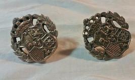 """Vintage Jewelry: 3/8"""" Coro Earrings Screwbacks 2016091903 - $8.90"""