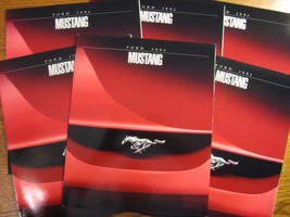 1994 Ford Mustang Dealer Sales Brochure LOT (6) pcs, GT, Convertible, MINT - $22.72