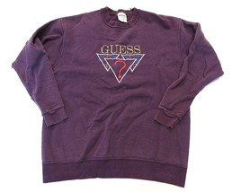 GUESS? by Georges Marciano Crew Neck Sweatshirt Men's Size Large Made in... - $49.45