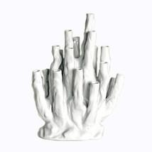"Beautiful White Color Porcelain Coral Vase 16"" - $257.39"