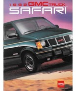 1992 GMC Truck SAFARI sales brochure catalog 92 US SLT SLE SLX GT - $6.00