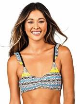 Raisins YELLOW Barbados Bound Angel Wings Bra Bikini Swim Top, US Medium - $15.05