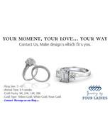 Diamond Cocktail Semi Mount Engagement Ring 14K White Gold 0.93 CT Fine ... - $4,967.82