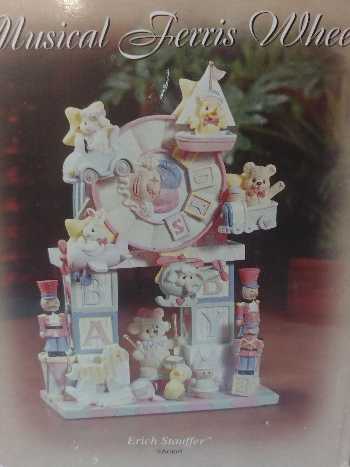 Nursery Musical Ferris Wheel Erich Stauffer Arnart NEW in Box