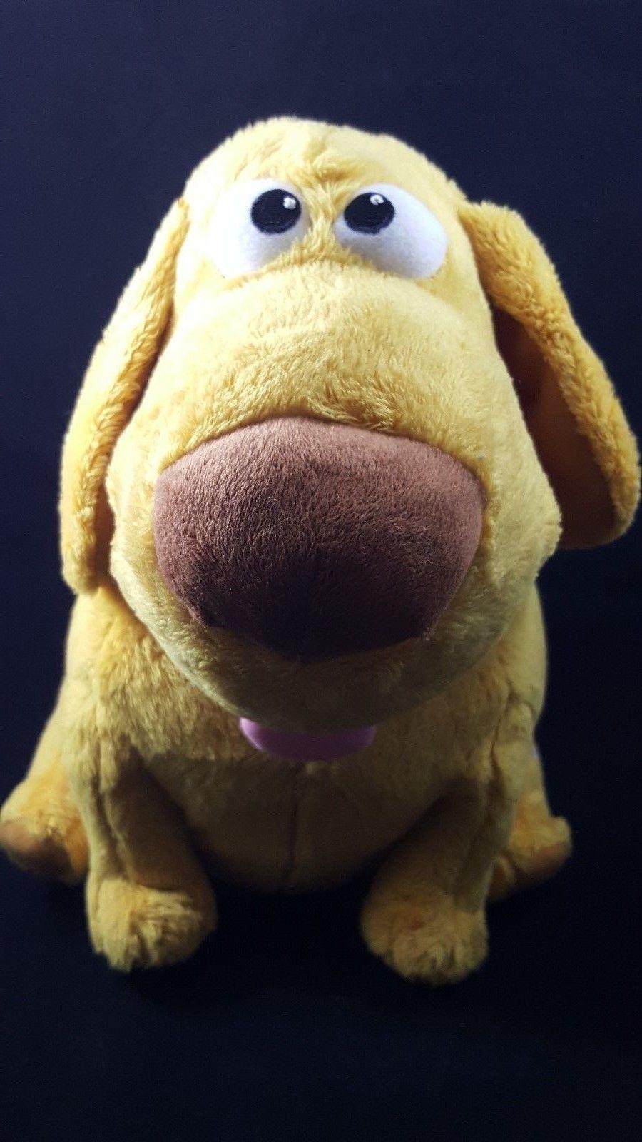 Disney UP Dog the Talking Dog Light Up Moving Head Wag Tail Plush Dog