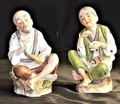 Homco Figurines AA18 - 1156 Pair of Vintage Lady - Gentlemen image 2