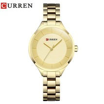 CURREN Rose Gold Watch Women Watches Ladies Stainless Steel Women's Bracelet Wat - $32.30
