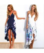 Sexy Women Summer Boho Long Maxi Evening Party Dress Beach Dresses Sundr... - $32.43+