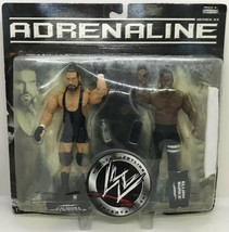 2007 Jakks Pacific WWE Adrenaline Sylvester Terkay and Elijah Burke #4 S... - $28.49