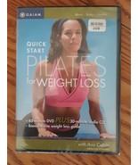 PILATES - Quick Start Weight Loss - MINT NEW SEALED  DVD + CD!! - $8.41