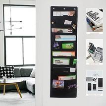 Hanging File Folders, 10-Pocket Office Organizer Storage Pocket Chart, O... - $19.48