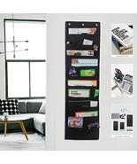 Hanging File Folders, 10-Pocket Office Organizer Storage Pocket Chart, O... - $16.93