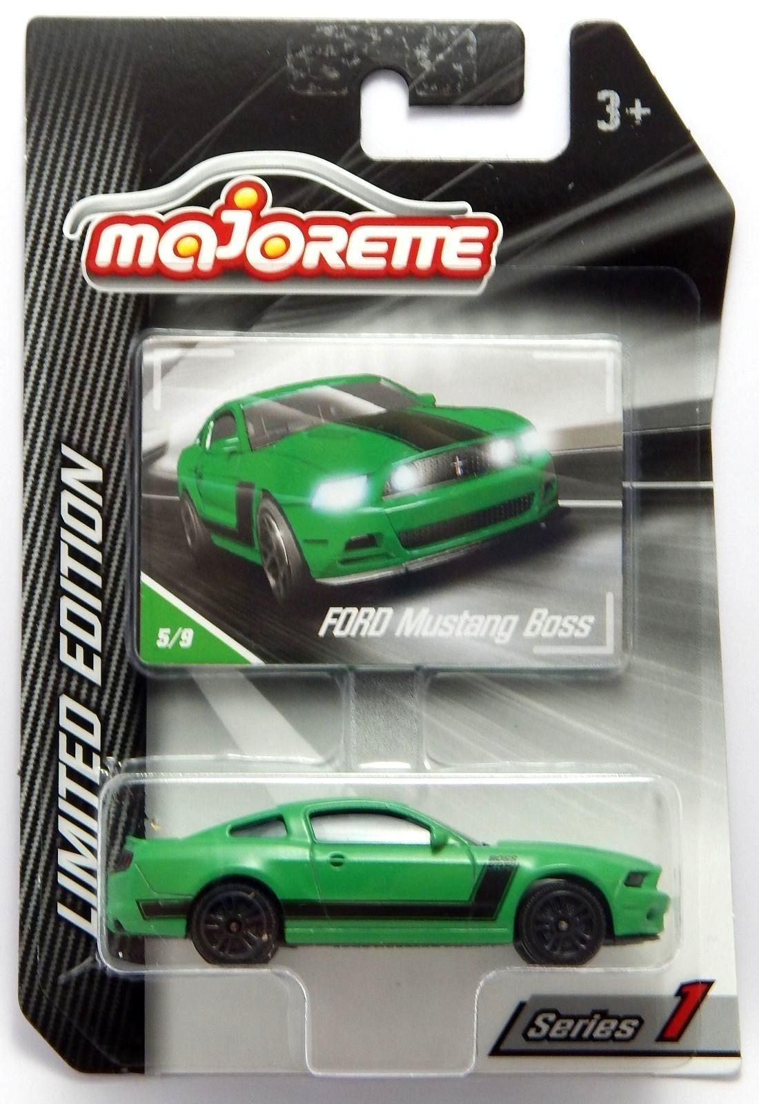 Majorette Ford Mustang Boss Series 1 Limited Edition