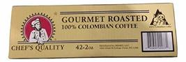 Chef's Quality Gourmet Roasted 100% Columbian Coffee - Ground - 42 2 Oun... - $32.60