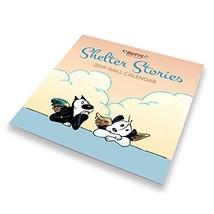 Mutts 2019 Wall Calendar - Heartwarming Shelter Cat & Dog Illustrations,... - $22.39