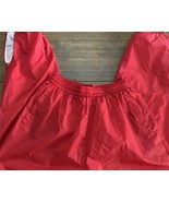 RARE Vtg 90s Champion Brand Red MINT Nylon Track SweatPants Mens Sz XL - $33.25