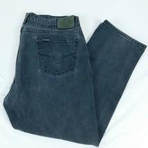 Harley Davidson Black Denim Jeans Traditional W 40 L 30 (Act W 39 L 29) - $34.99