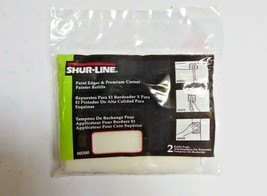 Shur-Line 00200 Paint Edger & Premium Corner Painter Refills Pack of 6 New image 1