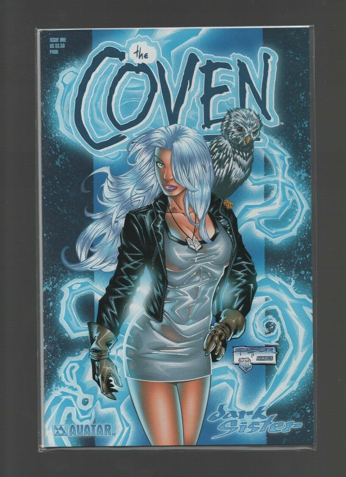 The Coven #1 - Avatar Comics - Dark Sister - Nimbus - We Combine Shipping.