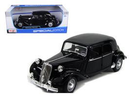 1952 Citroen 15CV 6CYL Black 1/18 Diecast Model Car by Maisto - $66.10